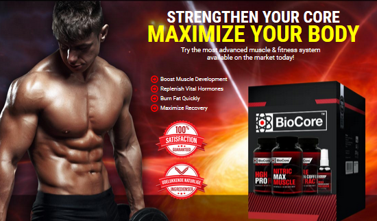 Biocore Nitric Max Muscle Reviews – #Strengthen Your Core, Maximise Your Body!