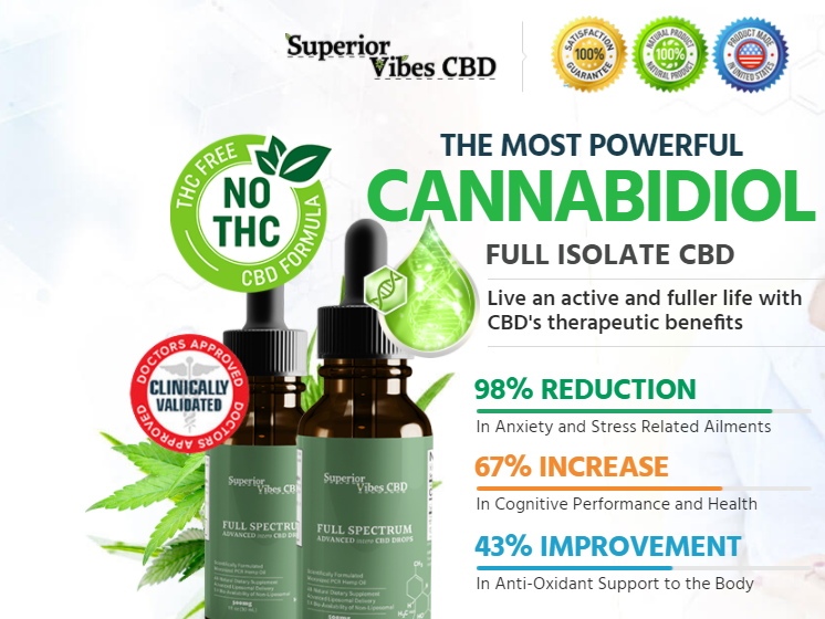 Superior Vibes CBD Oil What to Know before Buy it?