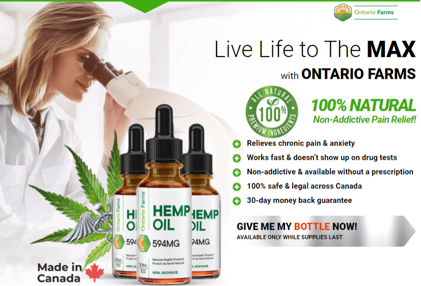 Scam Or Ontario Farms CBD Oil  Really Work?
