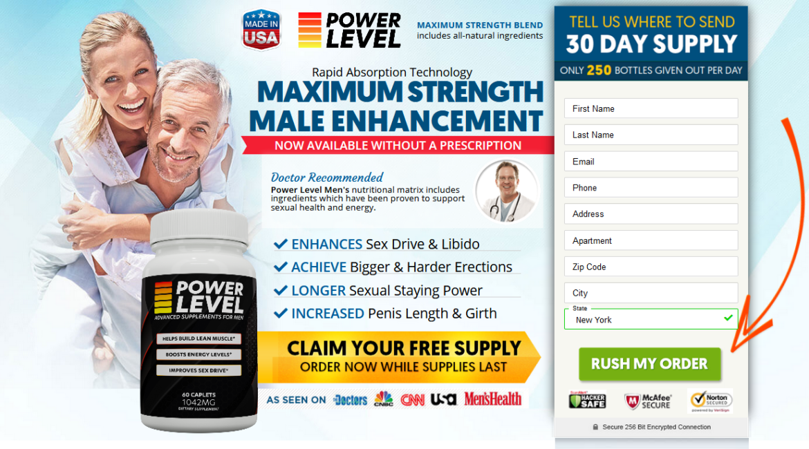 Power Level Male Enhancement Supplement Reviews – Does it Scam Or Really Work?