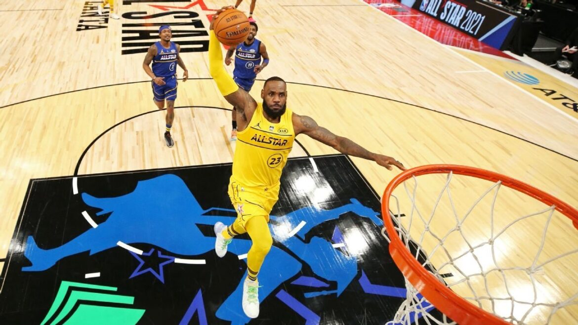 NBA All-Stars actually bring energy and fervour as Team LeBron travels past Team Durant!!