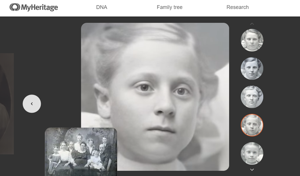 MyHeritage gives dead family members new life utilising deepfake technology to vivify photographs!!
