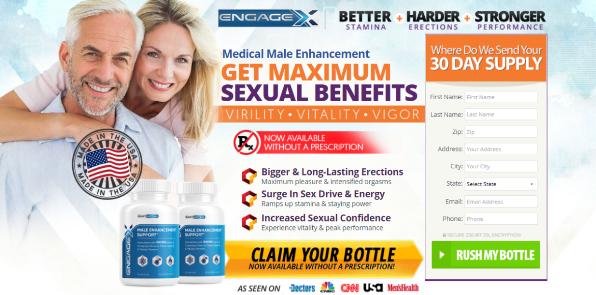 EngageX Male Enhacement – Reviews, Pills, Price,
