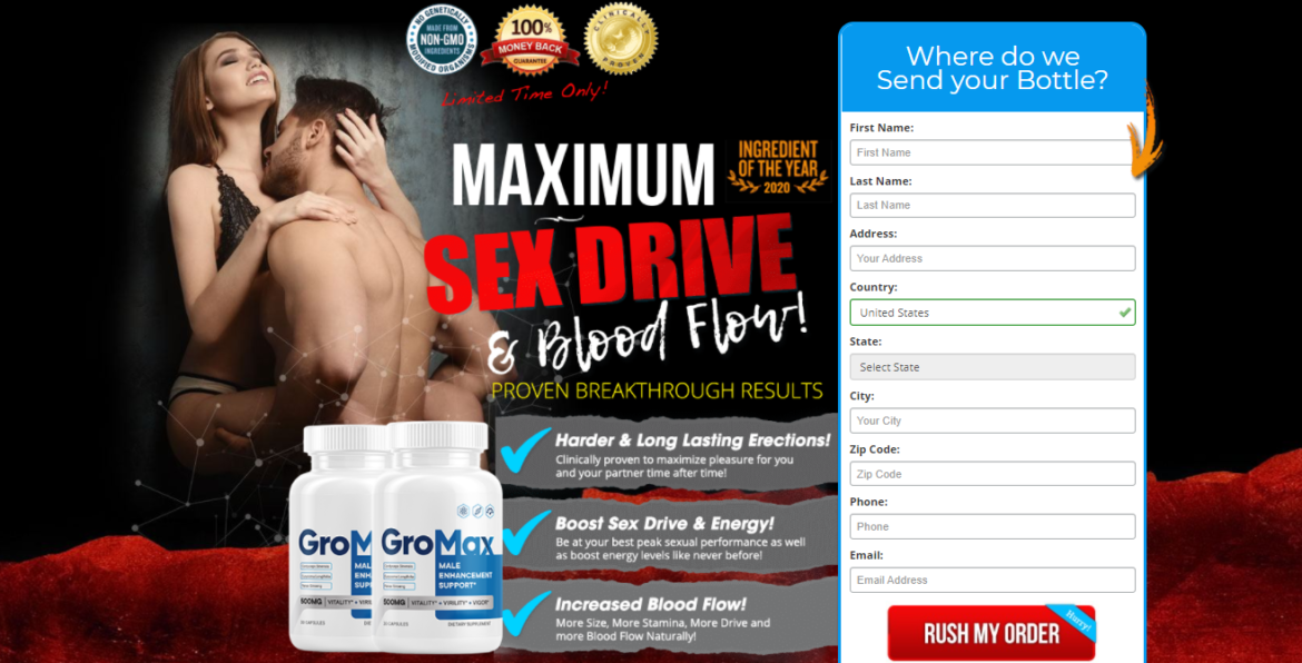 Gro Max Male Enhancement – Does GroMax  pills really  work?